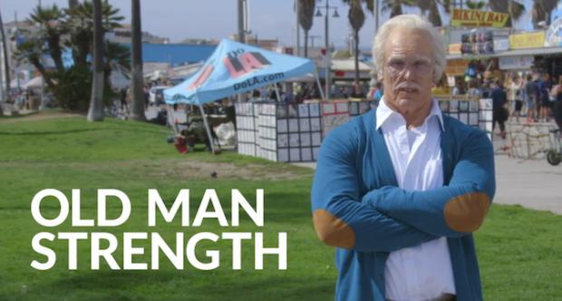Elderly man destroys weights session, Facebook in latest viral sensation