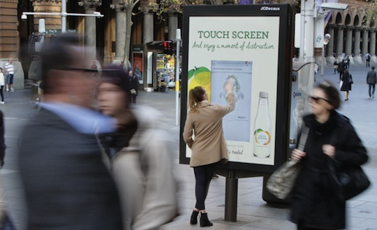 Deep Spring joins colouring book craze with interactive digital billboards