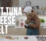 John West's 'Chef Bear' grills up a storm in social video campaign