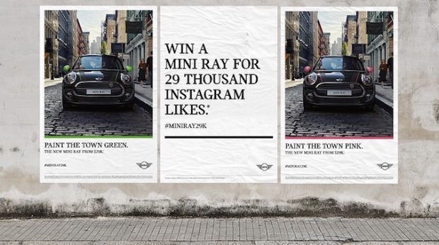 Mini goes after Gen Y with an Instagram popularity contest