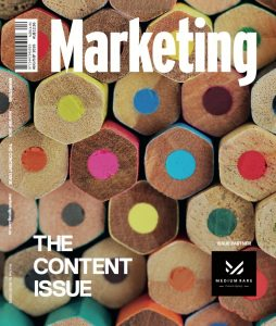 Marketing Mag The Content Issue Aug Sep 2016 cover