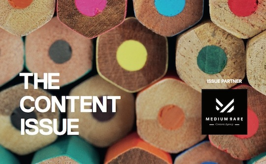 First look: The Content Issue of Marketing mag