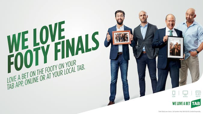 TAB repositions brand with new campaign ahead of footy finals