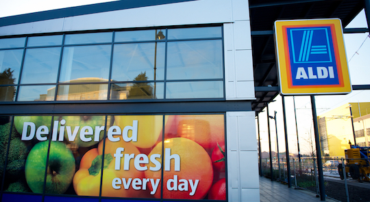 Aldi named retailer of the year