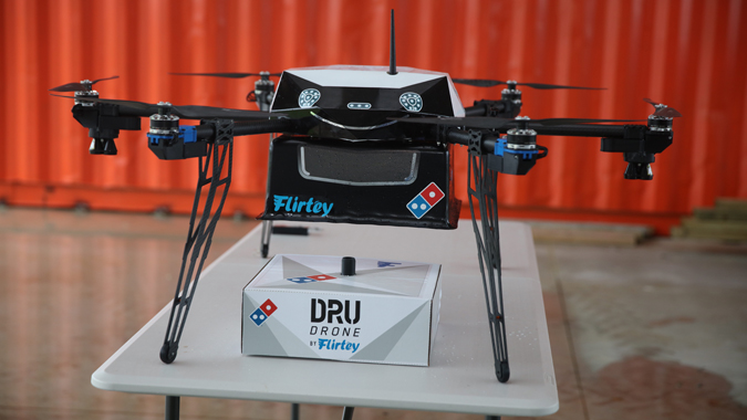 Cloudy with a chance of pizza: Domino's claims successful drone test flight