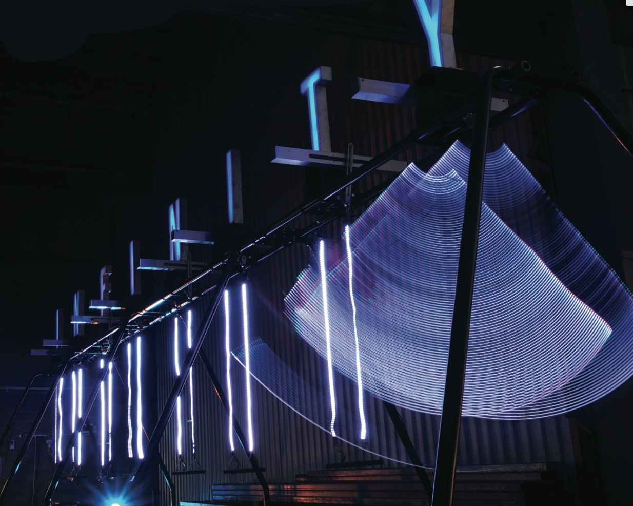 Swinging for science: inside 'Infinity' for CSIRO by Reborn