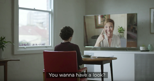 NBN connects old friends in 'Silent Reunion' campaign
