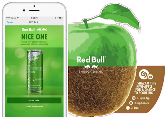 Red Bull launches Shazam campaign to promote new flavour in New Zealand