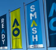 Game on: Australian Open rebrand