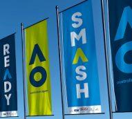 Game on: Australian Open rebrand