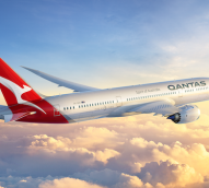 Qantas kangaroo and logo get makeover in preparation for new aircraft arrival