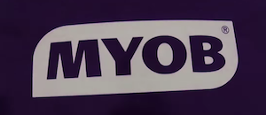 myob old logo