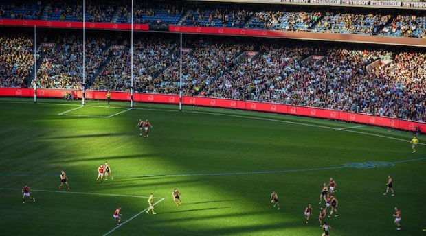 Ball! The Herald Sun kicks off the AFL season with gamified advertising