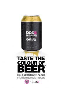 taste the colour of beer