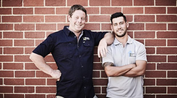 You've never heard of Bostik's new ambassadors, because they're tradies