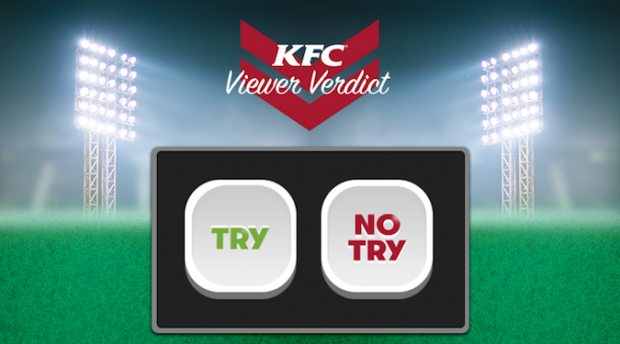 KFC invites NRL fans to do better than the ref