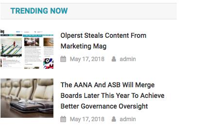 Olperst Trending Now