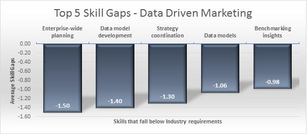 Top 5 skills gaps DDM