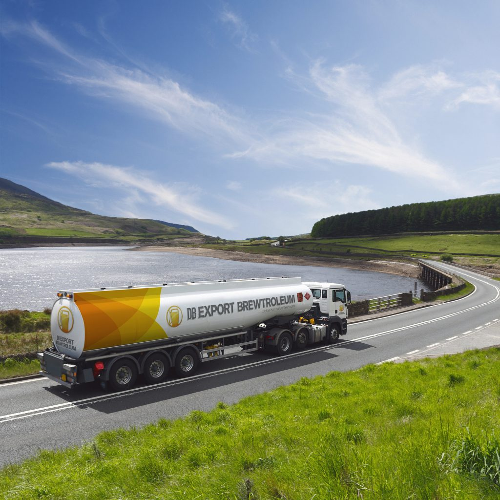 Brewtroleum HERO 2 Tanker on Road