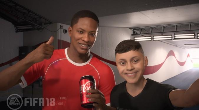 Coca-cola kicks off World Cup campaign with virtual ambassador