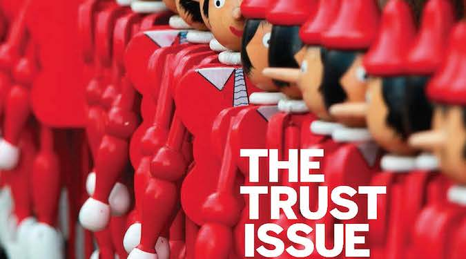 The Trust Issue – Marketing Magazine launches its June/July 2018 edition