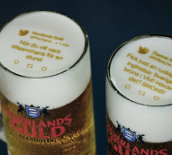 Frothing for World Cup updates? This Swedish brewer is printing Tweets on its beer