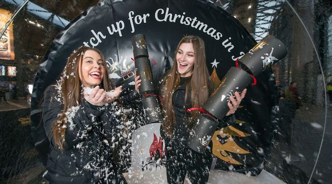 A cheesy take on OOH? Christmas elves invade Melbourne and Sydney train stations