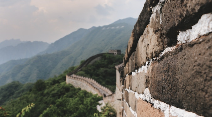 Great Wall of China building brands
