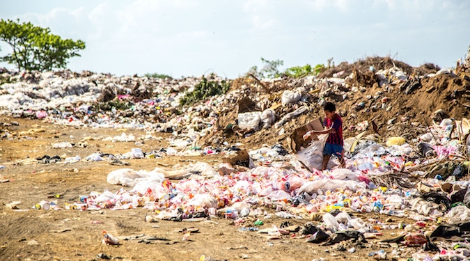 Unilever makes a commitment to locally recycled plastic packaging