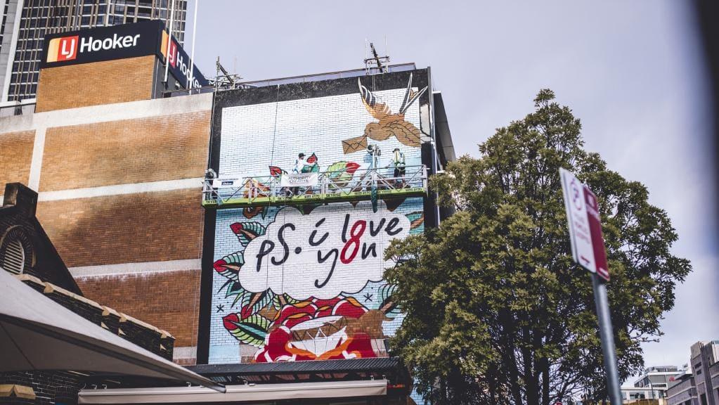 8 Phillip Street Parramatta Mural