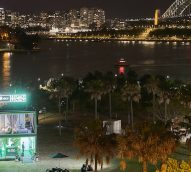 How Xbox One X made headlines with a glass box on Sydney harbour