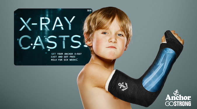 Breaking bones and barriers – making milk cool again with X-Ray Casts