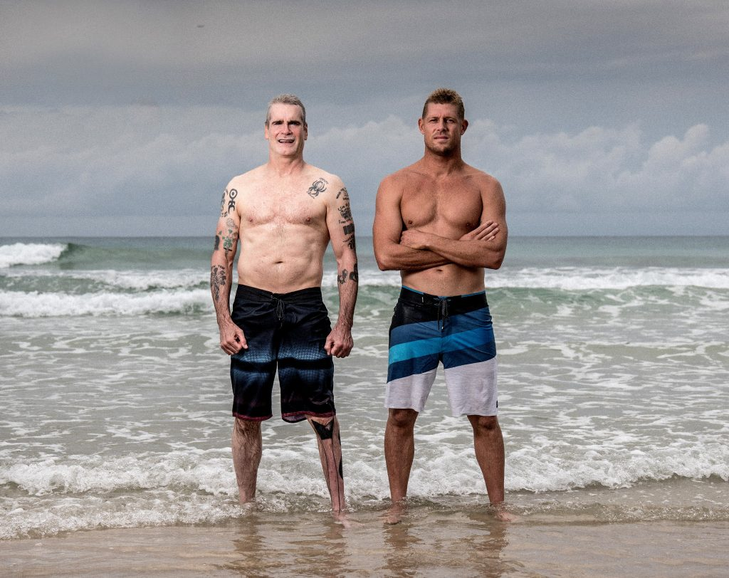 Henry and Mick Fanning