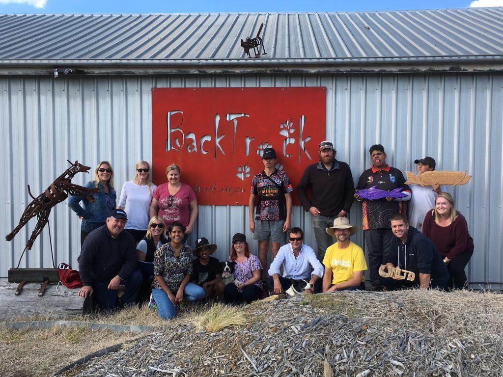 UnLtd team at BackTrack 2017
