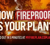 NSW Rural Fire Service asks 'How Fireproof is Your Plan?' in latest campaign