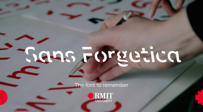 'Desirable difficulty' – RMIT launches font that increases memory retention