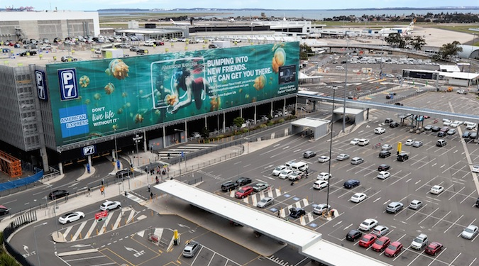 Sydney Airport sports largest building wrap in Australia