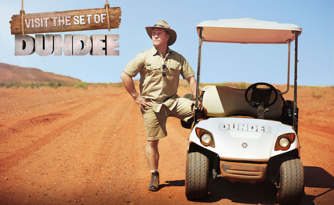 Tourism Australia extends Dundee campaign with Luke Hemsworth