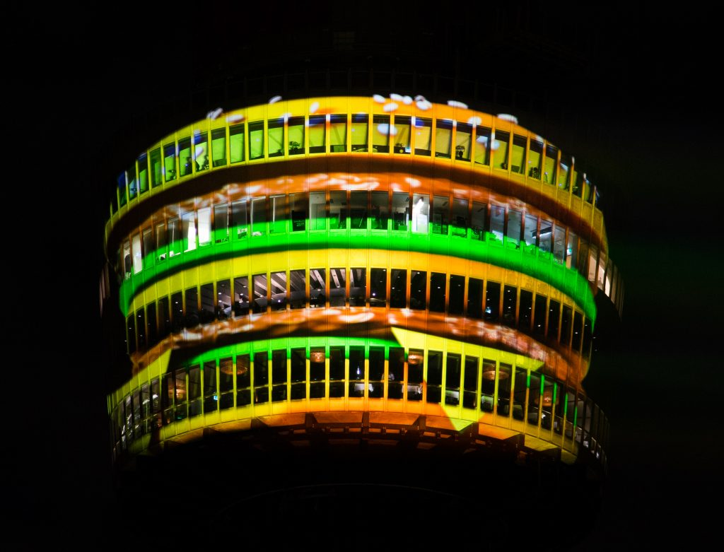 Big Mac Sydney Tower closeup