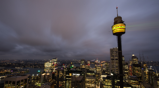 McDonald's projects Big Mac onto Sydney Tower to kick off November campaign