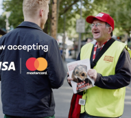 The Big Issue introduces digital payments for disadvantaged magazine vendors