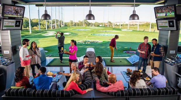 Not your average driving range: shareability at the heart of entertainment