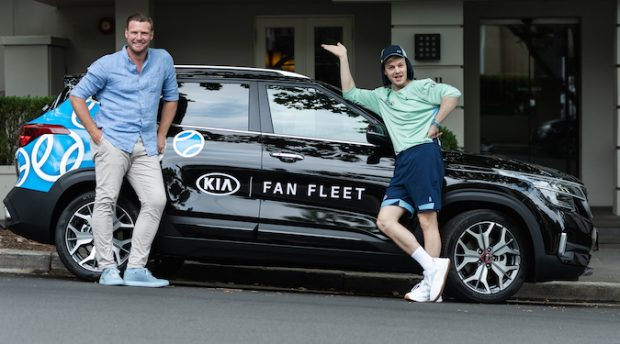 Kia offers Australian Open fans free Uber rides in new Seltos SUV