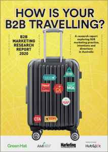 B2B Marketing Research Report 2020