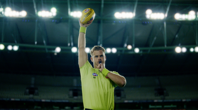 Footy bounces back with new sponsorship campaign