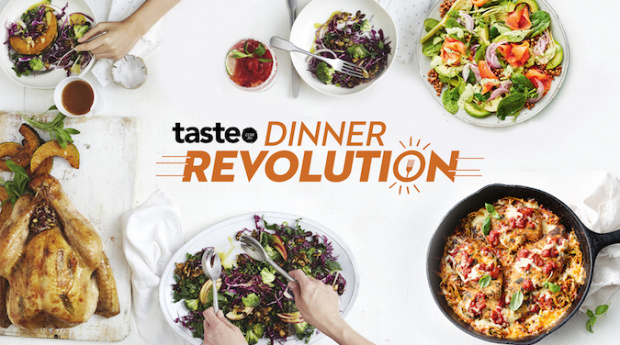 Taste.com.au answers the eternal question, 'what's for dinner?'