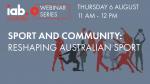 Sport And Community: Reshaping Australian Sport