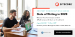 State of Writing in 2020