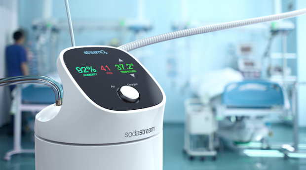 SodaStream collaborates with hospital to offer respiratory assistance for COVID-19