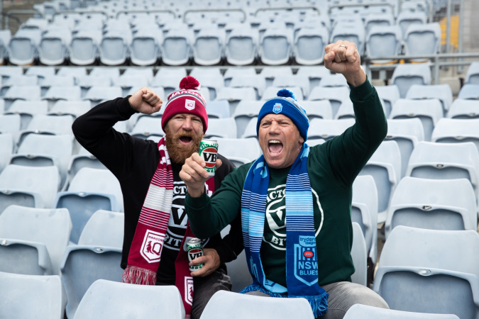 Victoria Bitter partners with the State of Origin